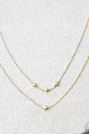Finer Things in Life Gold Layered Choker Necklace 2