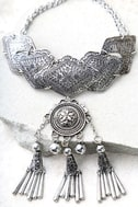 Spirit Song Silver Statement Necklace 2