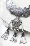 Spirit Song Silver Statement Necklace 3