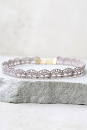 Thelma Grey Lace Choker Necklace 2