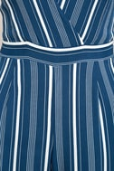 Montauk Yacht Club Blue and White Striped Jumpsuit 7
