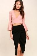 Perfectionist Black Pencil Skirt 1
