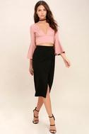 Perfectionist Black Pencil Skirt 2