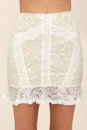 Verena White Lace Two-Piece Dress 5