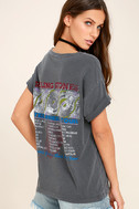Daydreamer Rolling Stones Washed Grey Tee 3
