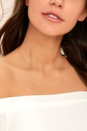 Finer Things in Life Gold Layered Choker Necklace 1
