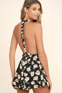 Elated Energy Pink Floral Print Convertible Romper 6