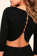 Shape of You Black Bodycon Dress 5