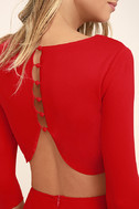 Shape of You Red Bodycon Dress 5