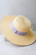 Down at the Derby Beige Straw Hat 3