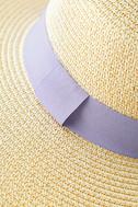 Down at the Derby Beige Straw Hat 4