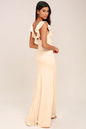 Perfect Opportunity Pale Blush Maxi Dress 3