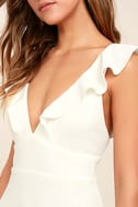 Perfect Opportunity White Maxi Dress 5