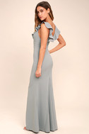 Perfect Opportunity Grey Maxi Dress 3