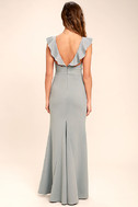 Perfect Opportunity Grey Maxi Dress 4