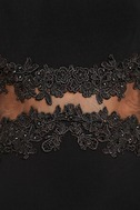 Optimum Elegance Black Lace Maxi Dress 6