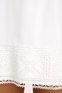 Moment In The Sun White Lace Off-the-Shoulder Dress 6