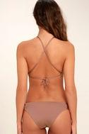 Dolce Vita Macrame Mauve Bikini Top 4