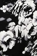 Lush life black and white floral print midi jumpsuit lush life black and white floral print midi jumpsuit mightylinksfo