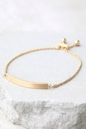 You Name It Gold Bracelet 2