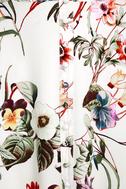 Bloom On Ivory Floral Print Maxi Dress 6