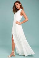 Cloud Rider White Maxi Dress 2