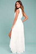 Cloud Rider White Maxi Dress 3