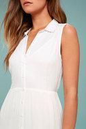 Cloud Rider White Maxi Dress 5