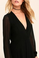 Gone With the Whirlwind Black Romper 5