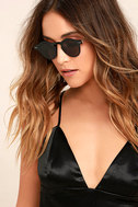 Spitfire Nexus Black Round Sunglasses 2