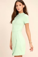 Black Swan Kylah Mint Green Bodycon Dress 3
