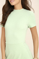Black Swan Kylah Mint Green Bodycon Dress 5