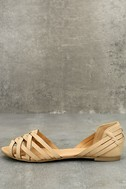 Equatorial Natural Huarache Flats 1