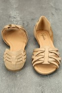 Equatorial Natural Huarache Flats 3