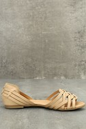 Equatorial Natural Huarache Flats 4