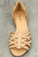 Equatorial Natural Huarache Flats 5