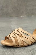 Equatorial Natural Huarache Flats 6
