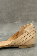 Equatorial Natural Huarache Flats 7