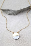 Most Modern Gold and Ivory Necklace 2