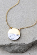 Most Modern Gold and Ivory Necklace 3