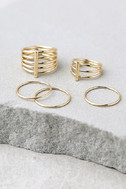 Perfect Touch Gold Ring Set 2