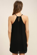 Piece of Caicos Black Embroidered Shift Dress 4