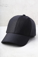 From the Crowd Black Baseball Cap 2