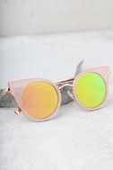 Pretty Sight Pink Mirrored Sunglasses 3