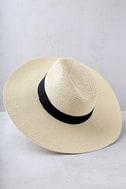 Professional Lounger Beige Floppy Straw Hat 3