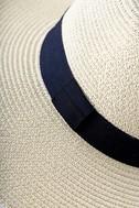 Professional Lounger Beige Floppy Straw Hat 4