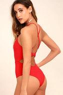 Tavik Lela Red One Piece Swimsuit 3