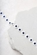 Vanessa Mooney Katherine Black and White Choker Necklace 3