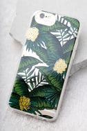 Sonix Coco Banana Clear and Green Leaf Print iPhone 7 Case 1