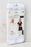 Sonix Coco Banana Clear and Green Leaf Print iPhone 7 Case 2